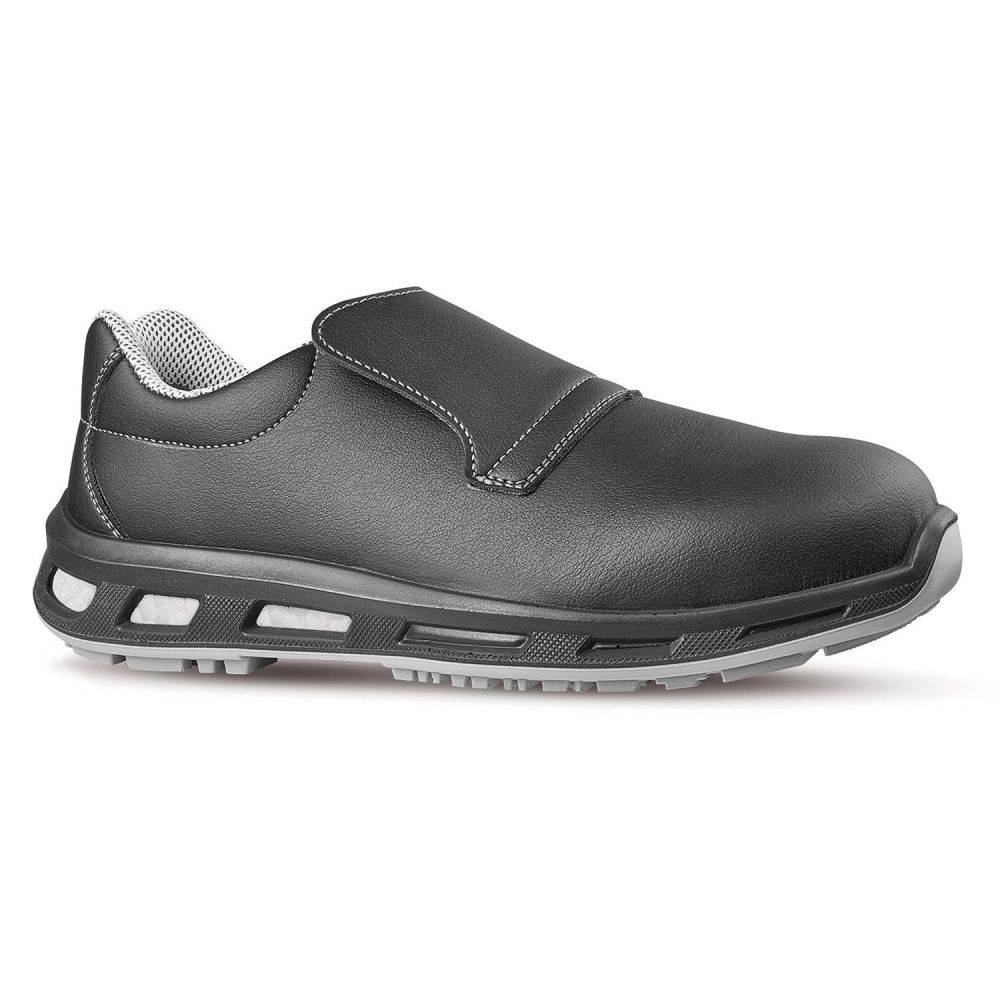 U-Power Mocassins de sécurité cuisine noirs S2 SRC U-Power