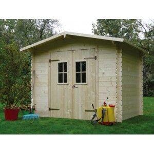 Abri de jardin en bois HANNOVER 5.57 m2