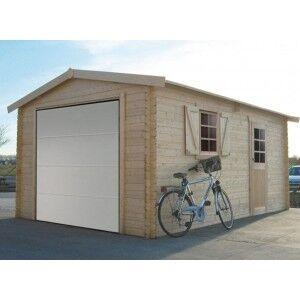 SOLID Garage en bois Solid 17,07m²