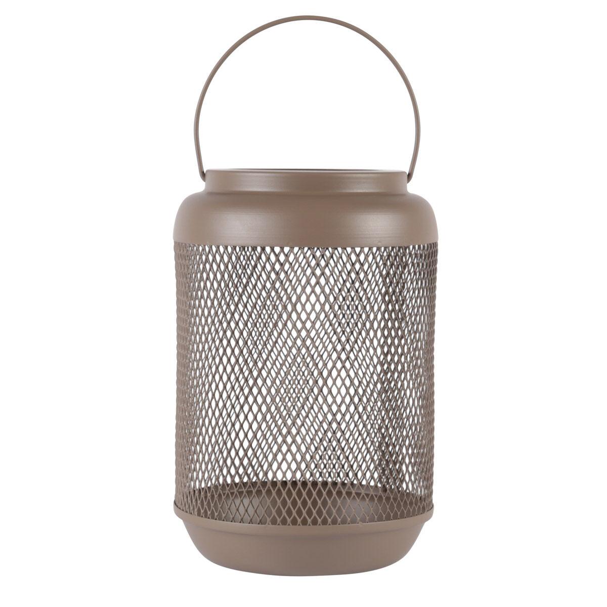 """Zago """"Lanterne métal vert argile h23,5 cm Eden - ZAGO"""""""