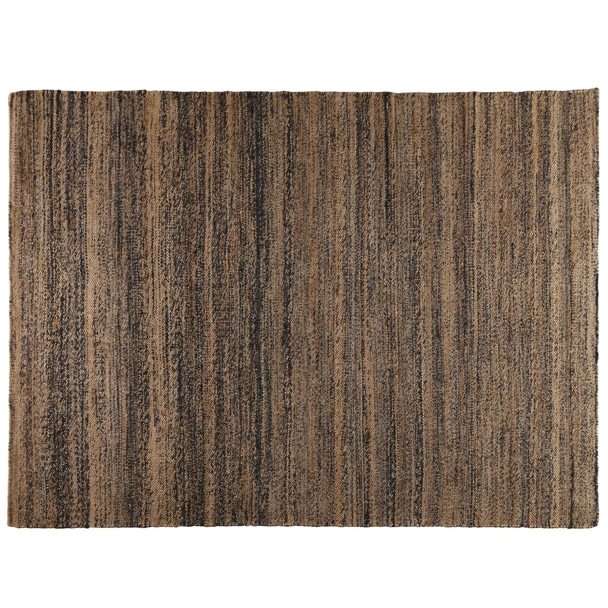 "Zago ""Tapis en chanvre naturel 200 cm Stripes - ZAGO"""