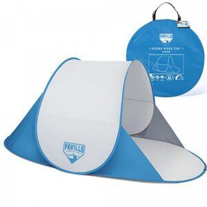 Bestway Tente de plage Igloo BESTWAY Secura 68045 Bleue 192x 120 x 85 cm Toutes saisons Montage facile en 2 secondes - Publicité