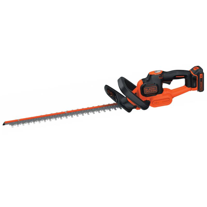Black & Decker Taille haies BLACK ET DECKER 18 V 2 Ah lame 50 cm inclus batterie et chargeur