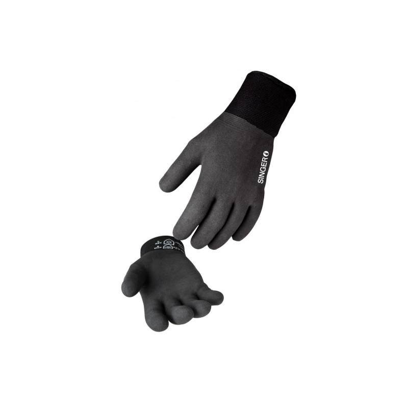 Singer Gant protection Grand Froid SINGER Taille 11 tricote bi couche polyamide enduction latex mousse souple