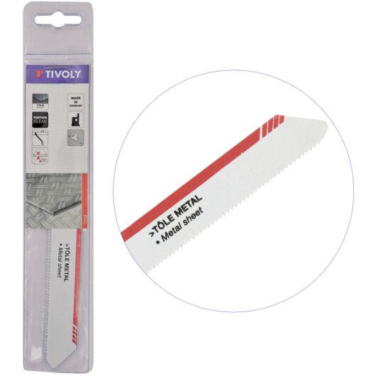Tivoly Lame de scie sabre Tôle et Métaux TIVOLY HSS L150mm coupe tubes, plaques jusqu'à 10cm épaisseur Haute Qualité