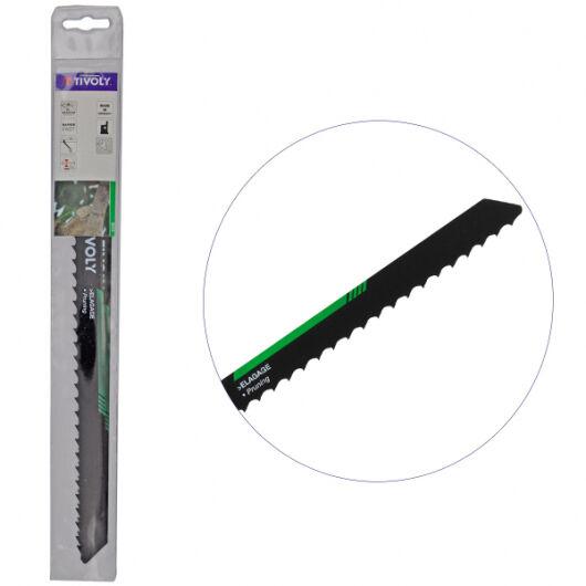 Tivoly Lame de scie sabre HCS Elagage TIVOLY HSS L230mm coupe branches jusqu'à 15cm épaisseur - Haute Qualité