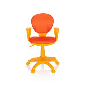 hjh OFFICE KID COLOUR - Chaise pivotante pour des enfants Orange - Publicité
