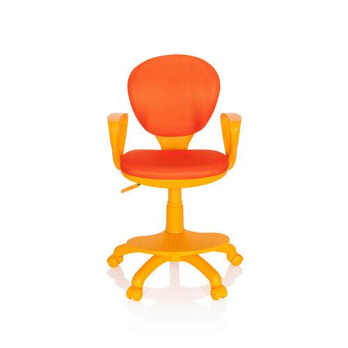 hjh OFFICE KID COLOUR - Chaise pivotante pour des enfants Orange