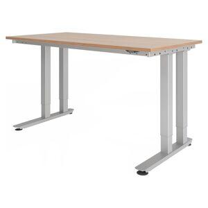 hjh OFFICE PRO RINO 16 S   160x80   Table pour charges lourdes - noyer - Publicité