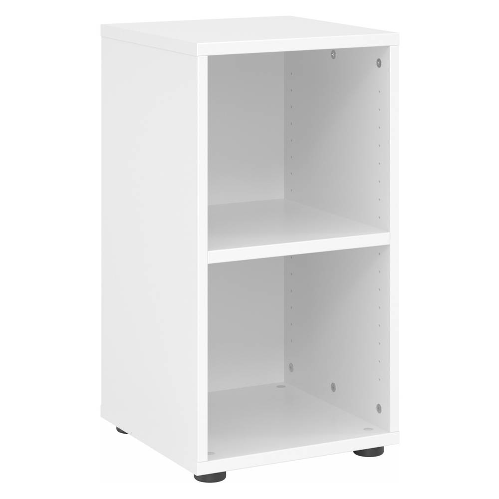hjh OFFICE PRO BETA 9   Étagère   2 HC   40 cm - Blanc