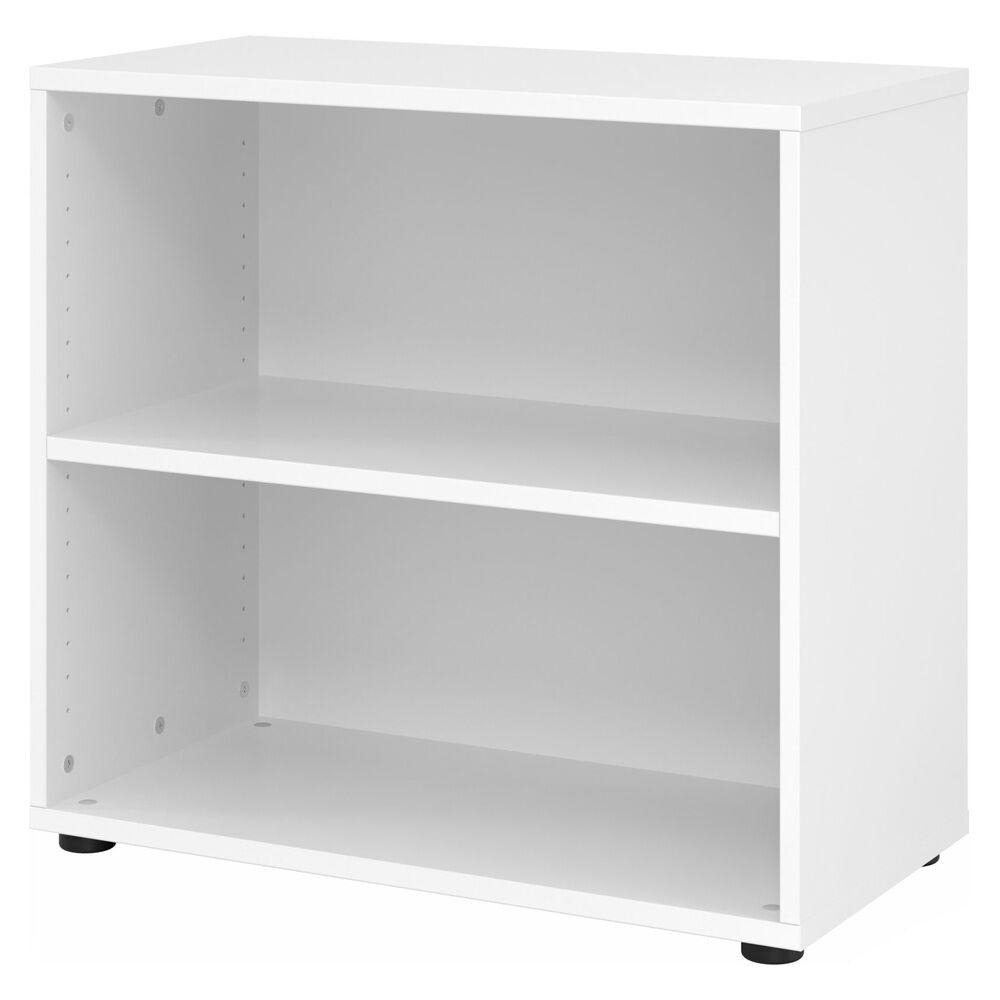 hjh OFFICE PRO BETA 9   Étagère   2 HC   80 cm - Blanc