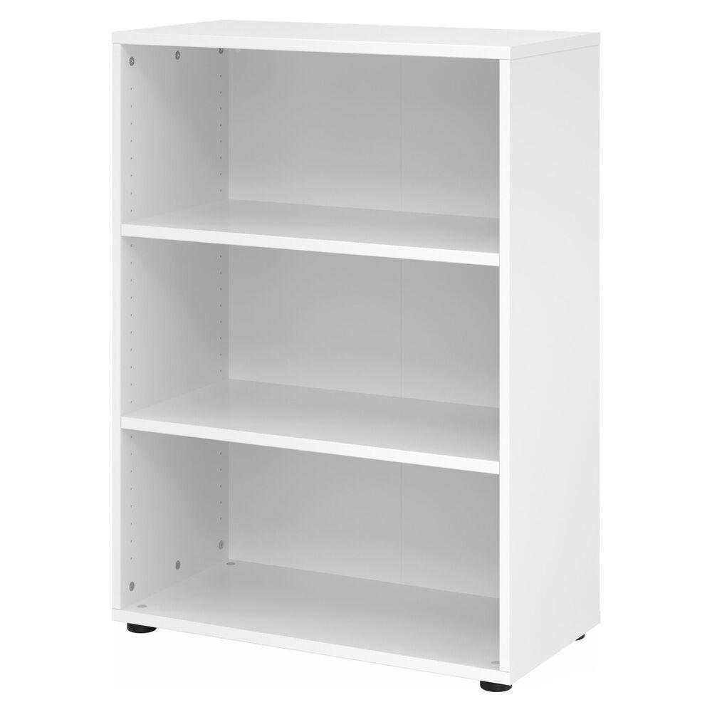 hjh OFFICE PRO BETA 9   Étagère   3 HC   80 cm - Blanc