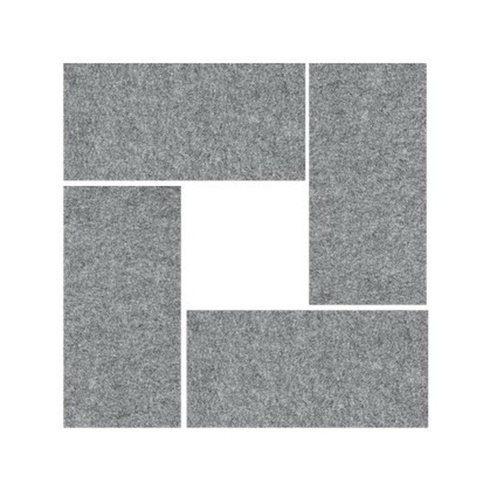hjh OFFICE PRO AWP 65   Élément mural acoustique   gris moucheté - Gris Chiné