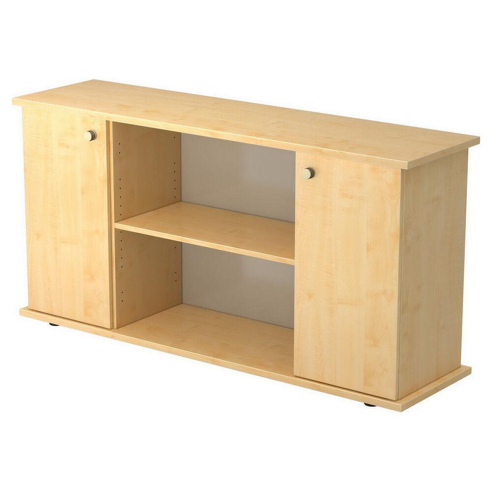 hjh OFFICE PRO KAPA SB   Sideboard   avec portes - Érable avec bouton Buffet