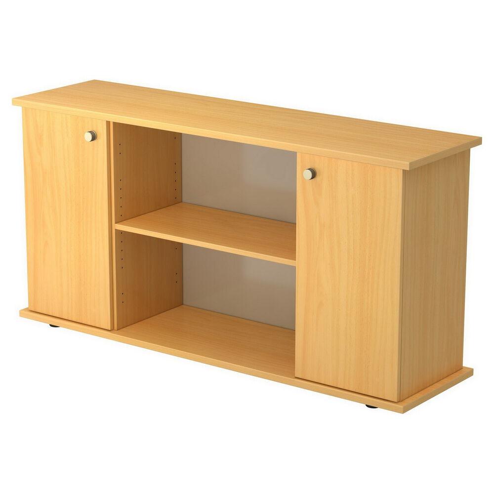 hjh OFFICE PRO KAPA SB   Sideboard   avec portes - Hêtre avec bouton Buffet