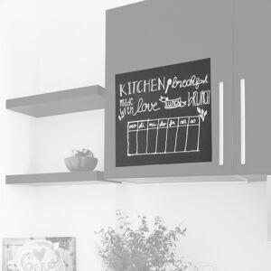 hjh OFFICE MEMO   Rouleau de tableau noir - Accessoires Noir - Publicité