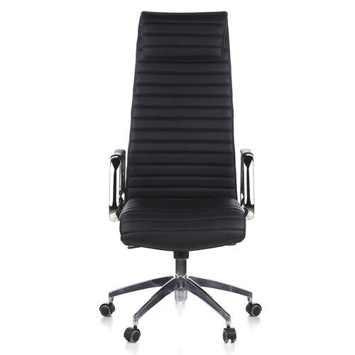 hjh OFFICE ASPERA 20 - Siège de direction de luxe Noir