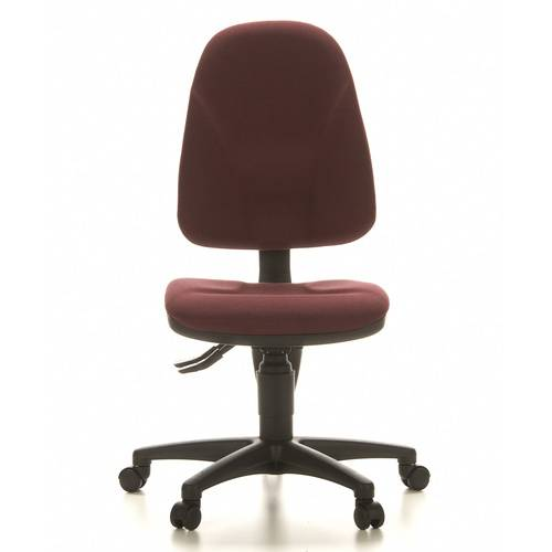 Topstar POINT 20 - Siège de bureau à domicile Rouge Foncé tissu