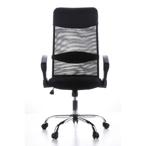 hjh OFFICE ARIA HIGH - Siège de direction pour bureau à domicile Noir