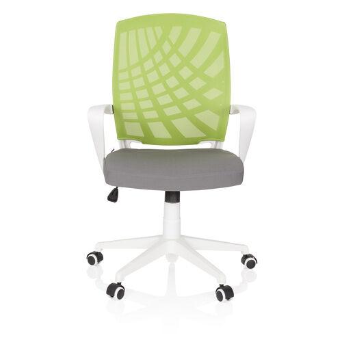 hjh OFFICE SPRING - Siège de bureau à domicile Gris / Vert