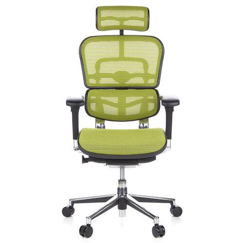 hjh OFFICE ERGOHUMAN tissu maille - Siège de direction de luxe Vert