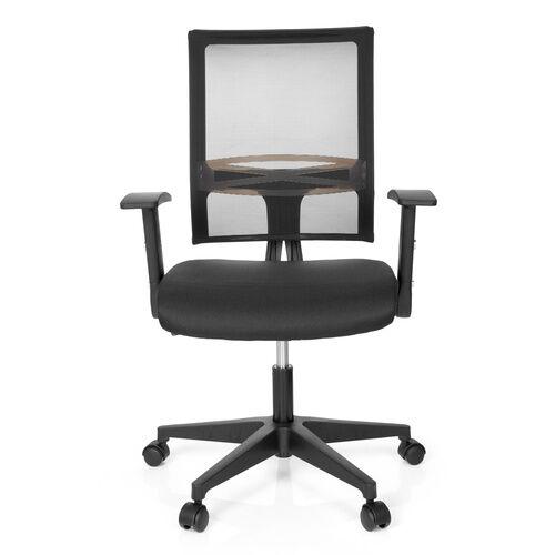 hjh OFFICE OFFICE R8 - Siège de bureau à domicile Noir