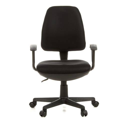 hjh OFFICE CITY 10 - Siège de bureau à domicile Noir