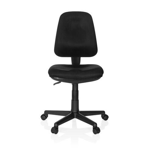 hjh OFFICE CITY 15 - Siège de bureau à domicile Noir