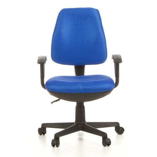 hjh OFFICE CITY 10 - Siège de bureau à domicile Bleu