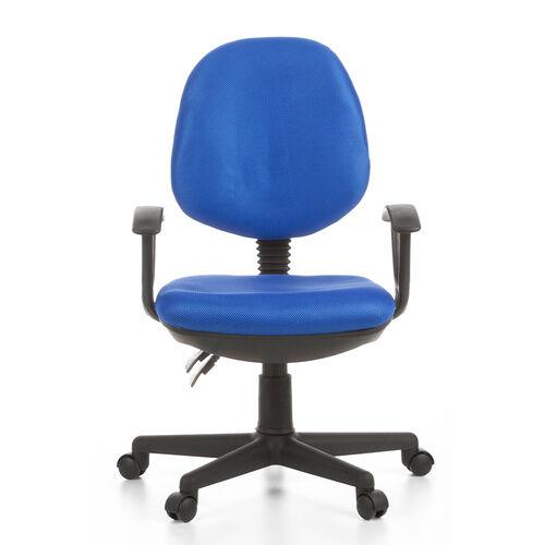 hjh OFFICE CITY 20 - Siège de bureau à domicile Bleu