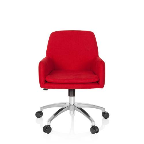 hjh OFFICE SHAKE 400 - Siège de bureau à domicile Rouge