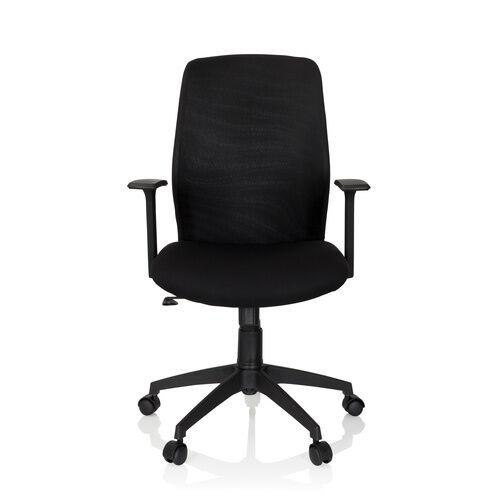 hjh OFFICE LESTER - Siège de bureau à domicile Noir