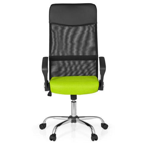 hjh OFFICE ORION NET - Siège de bureau à domicile Noir / Vert