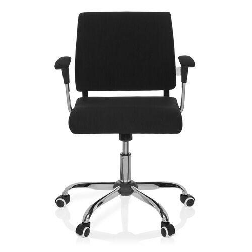 hjh OFFICE AVIDA - Siège de bureau à domicile Noir