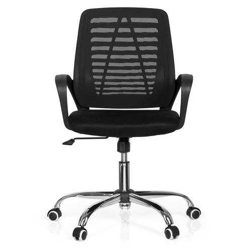 hjh OFFICE VIDO NET - Siège de bureau à domicile Noir