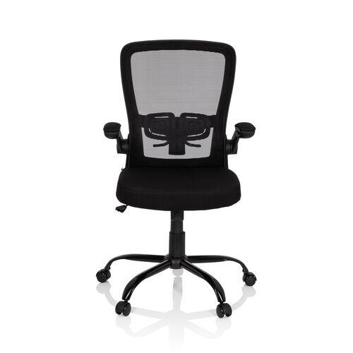 hjh OFFICE VENDO LIGHT - Siège de bureau à domicile Noir