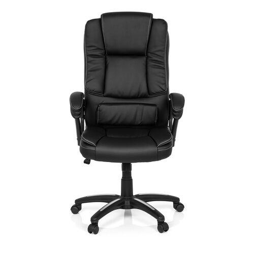 MyBuero RELAX CL120 - Siège de bureau à domicile Noir Buerostuhl24 simili cuir
