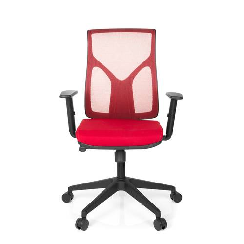 hjh OFFICE TURAN - Siège de bureau à domicile Rouge