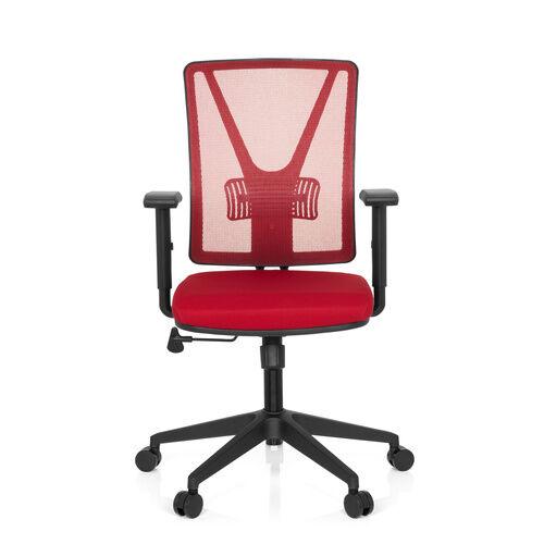hjh OFFICE CARLOW - Siège de bureau à domicile Rouge