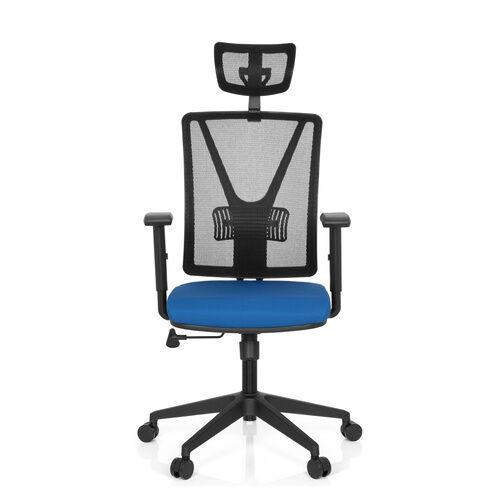 hjh OFFICE CARLOW PRO - Siège de bureau à domicile Bleu