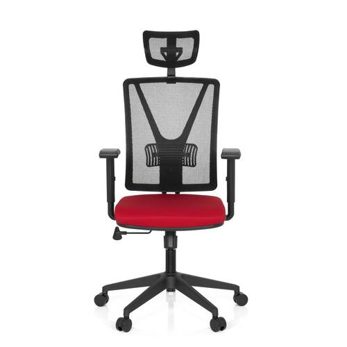 hjh OFFICE CARLOW PRO - Siège de bureau à domicile Rouge