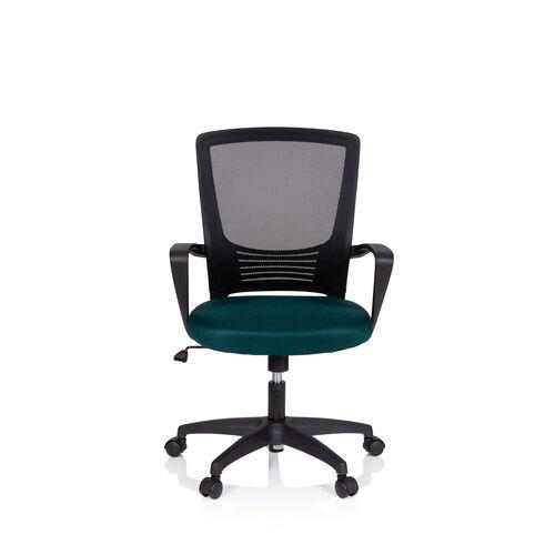 MyBuero STAR-TEC YU - Siège de bureau à domicile Noir/Vert