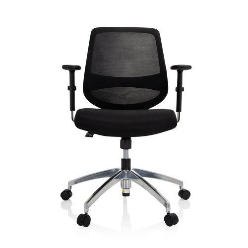 hjh OFFICE CHESTER PRO - Siège de bureau à domicile Noir