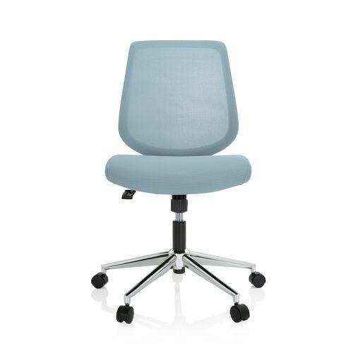 hjh OFFICE CHESTER W - Siège de bureau à domicile bleu clair