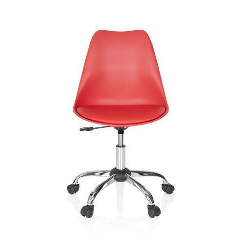 hjh OFFICE FANCY PRO - Siège de bureau à domicile Rouge