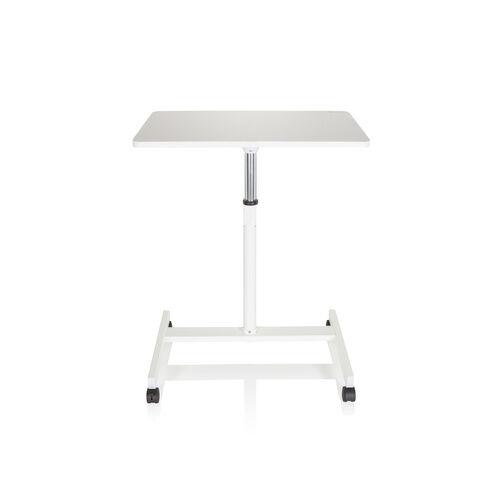 hjh OFFICE STAND VM-SU   Table haute/Support ordinateur portable - Bureau multimédia Blanc