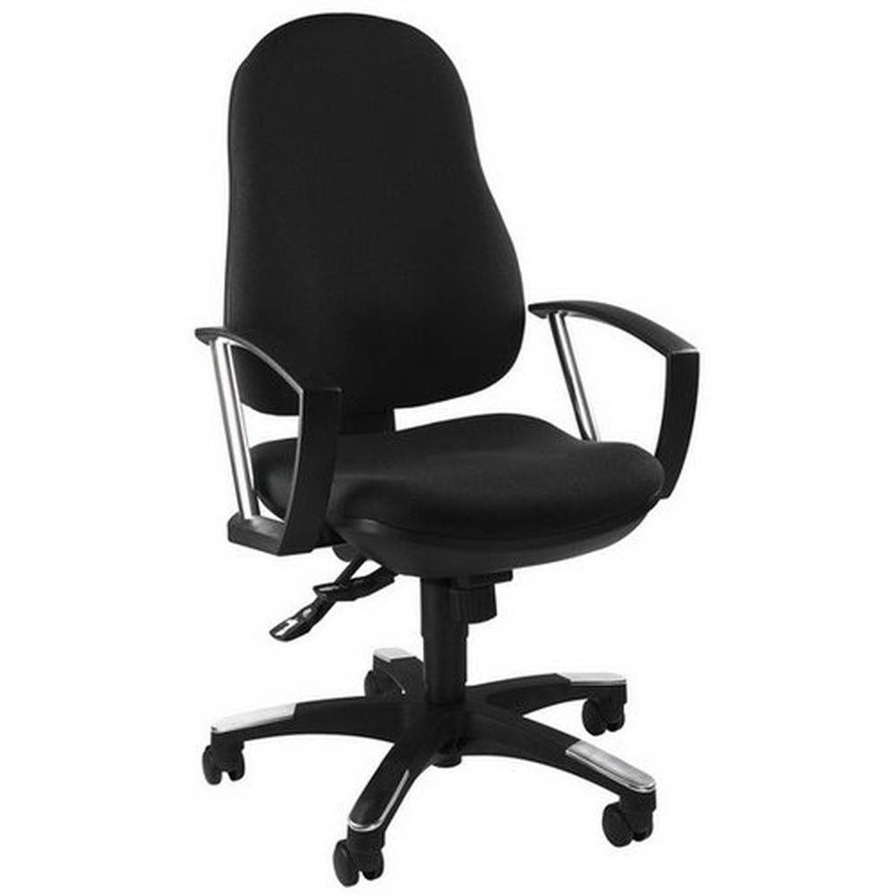 Topstar TRENDY SY - Siège de bureau à domicile Noir tissu