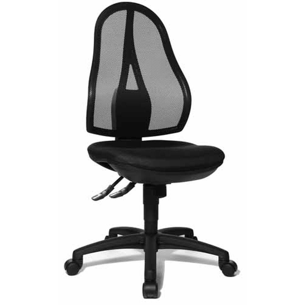 Topstar Open Point SY - Siège de bureau à domicile Noir tissu