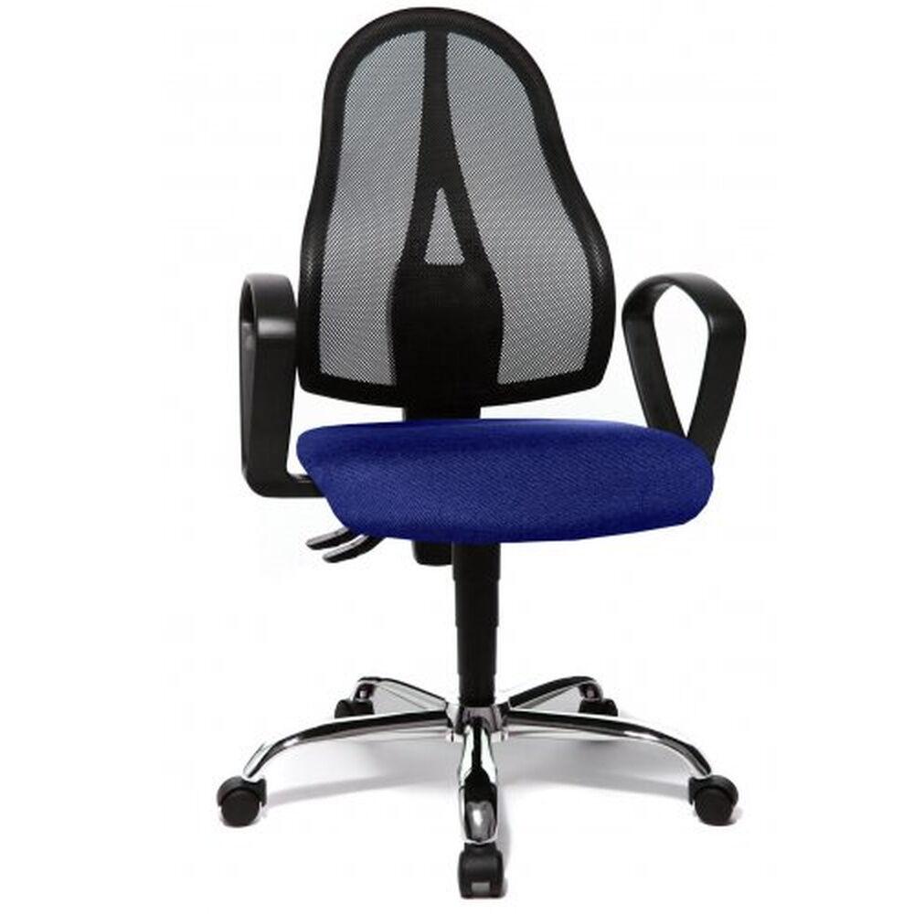 Topstar OPEN POINT P SOMO AL.B2(B) - Siège de bureau à domicile Bleu tissu maille