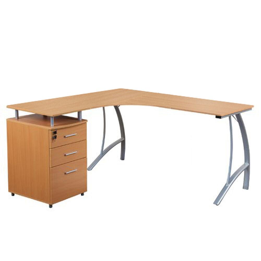 hjh OFFICE CASTOR   151x143 - Bureau multimédia Hêtre